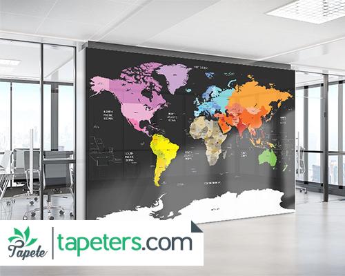 fototapete-karta-sveta